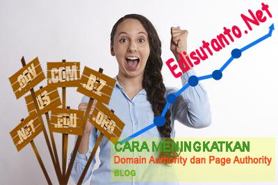 Meningkatkan Da dan Pa Blog