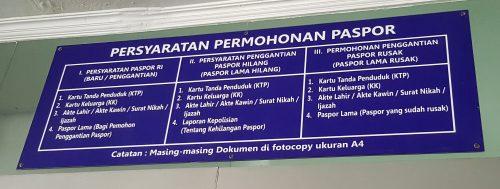 Syarat Membuat Paspor