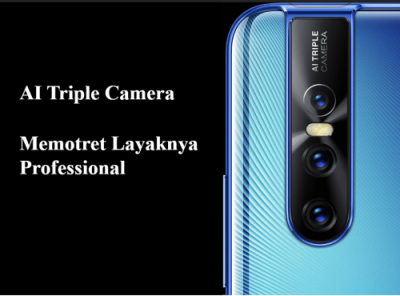 Triple kamera Vivo V15 Pro