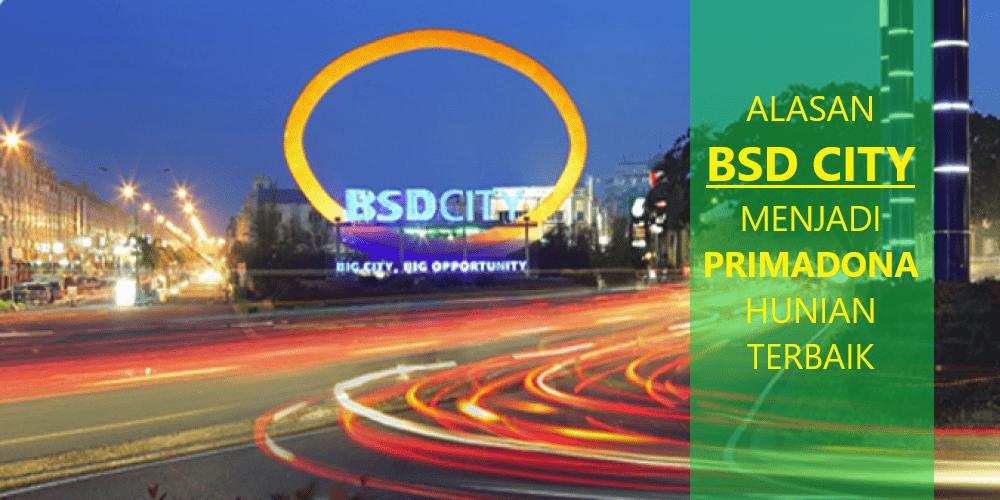 BSD CITY Hunian terbaik