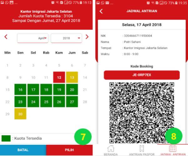 Cara Membuat Paspor Online di Aplikasi