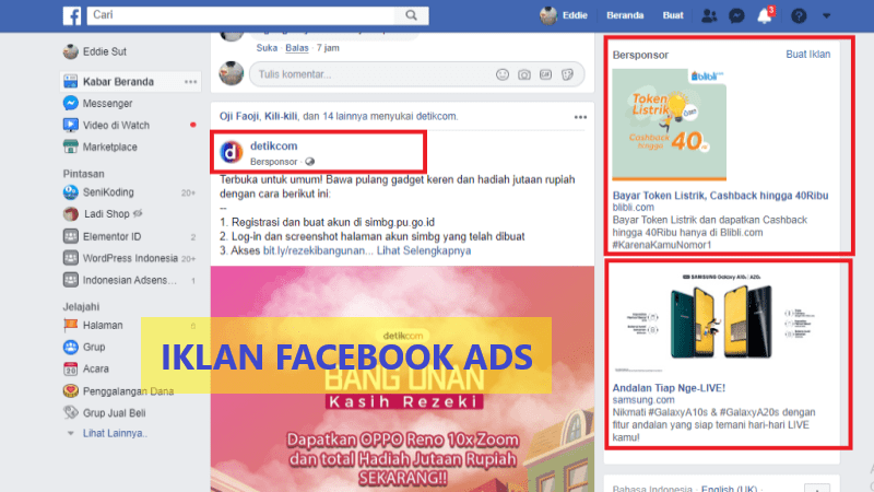 Digital Marketing Facebook Ads