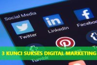 kunci sukses digital marketing