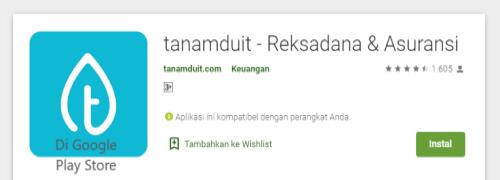Aplikasi Asuransi Jiwa TanamDuit