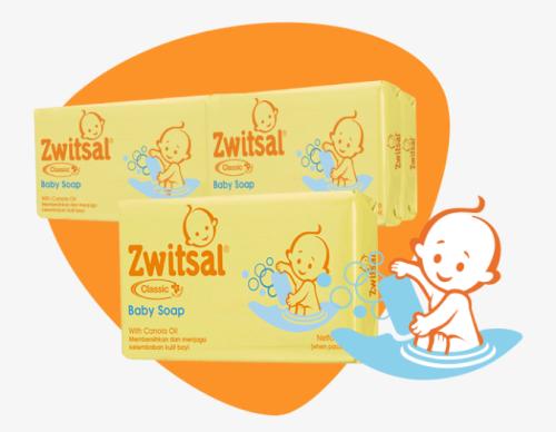 Sabun bayi batang yang aman