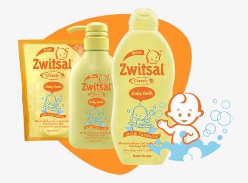 Sabun bayi cair yang aman