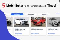 Harga Mobil Bekas Yang Masih Tinggi