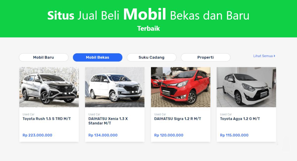 Situs Jual Beli Mobil Bekas dan Baru Murah